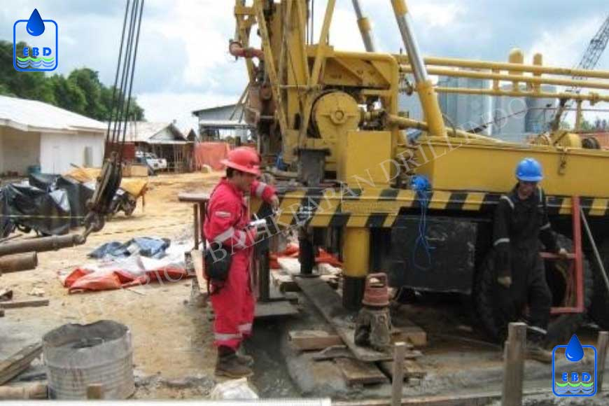 Deep Monitoring Well Drilling 5 New