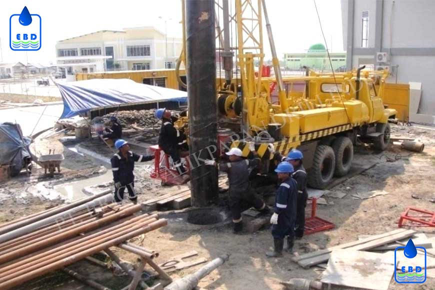 Deep Water Well Drilling & Installation of Piping 1 New